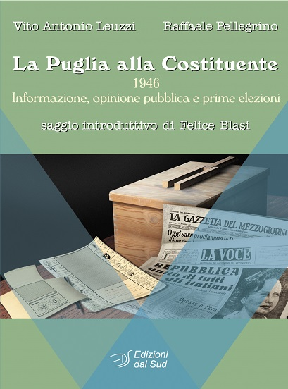 Copertina La Puglia alla Costituente